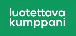 Luotettava-Kumppani-logo verkkosivuille